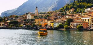 Amazing tour on Limone sul Garda - Lake Garda in Lombardy, Italy