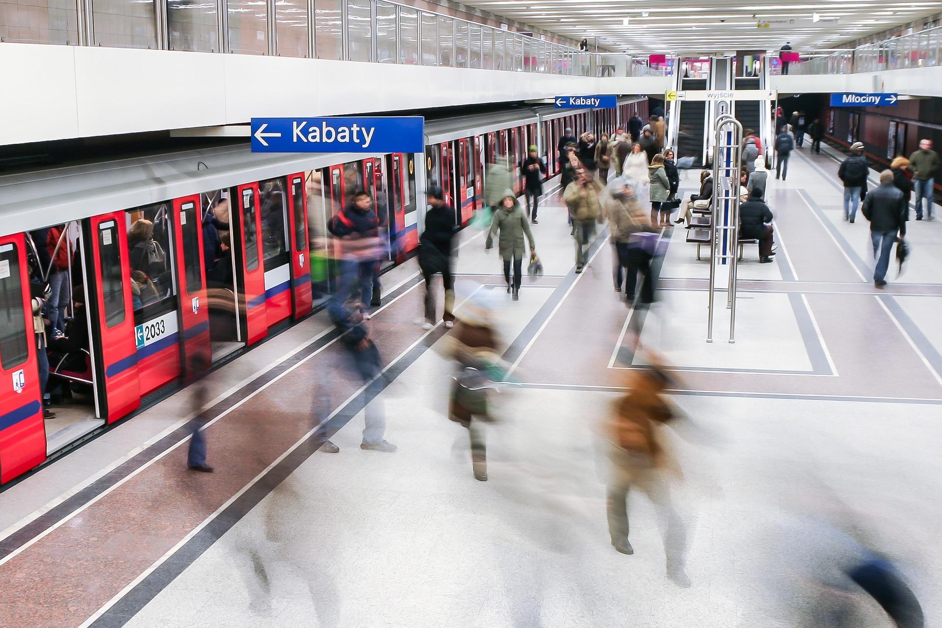 View on Kabaty Metro, Poland