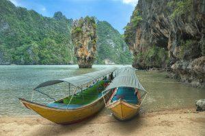 Beautiful view on Phang Nga Bay, Thailand