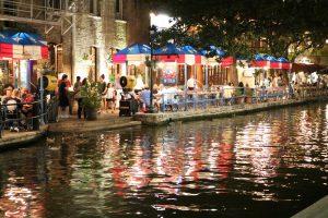 Enjoy riverwalk in San Antonio, Texas