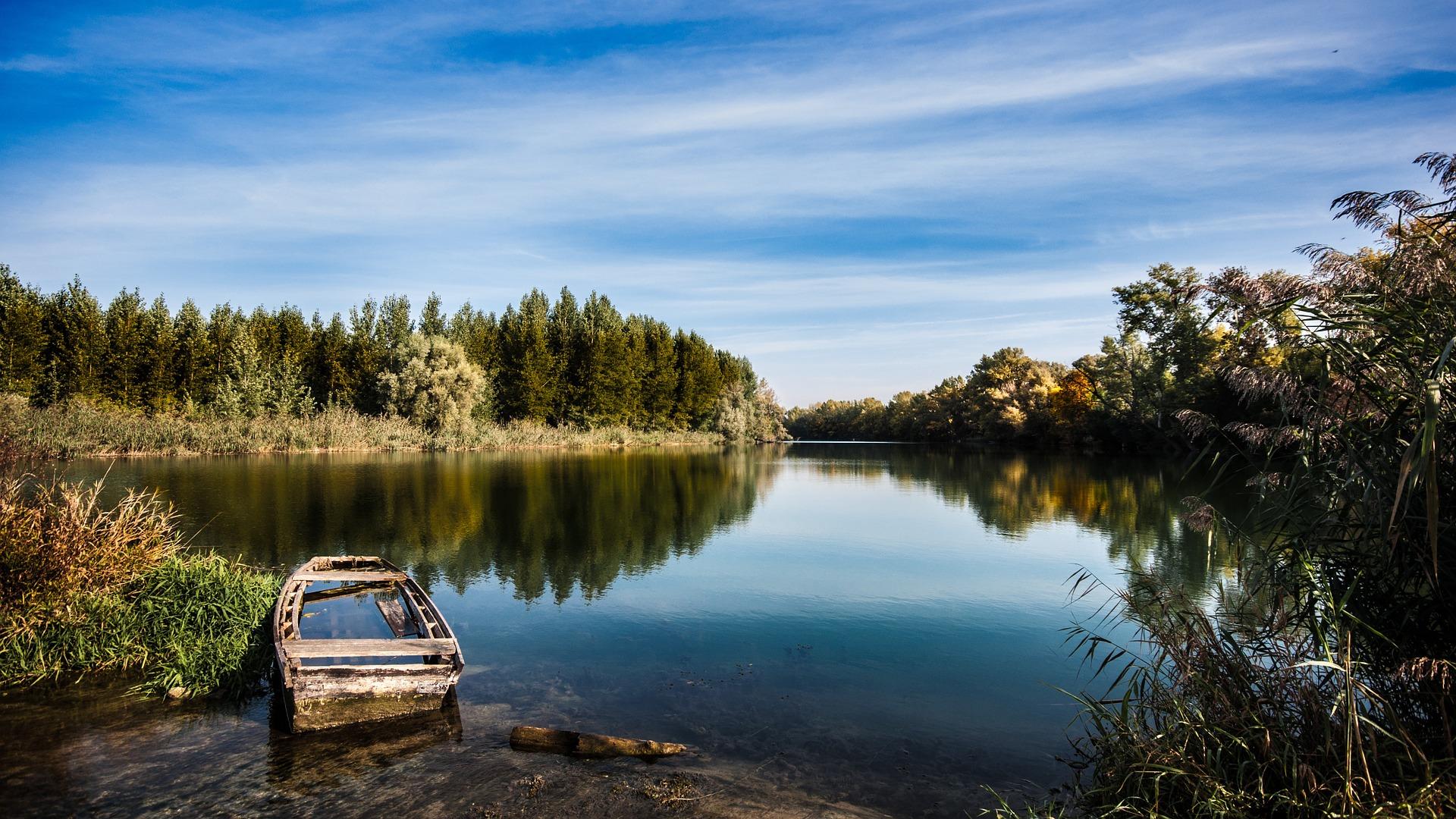 Beautiful Lake in Solvenia