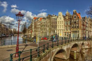 Amazing view on Keizersgracht, Amsterdam