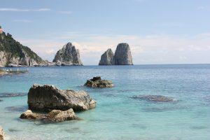 Beautiful Horizon at Capri Island, Italy