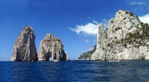 Grand Faraglioni at Capri Sea, Italy