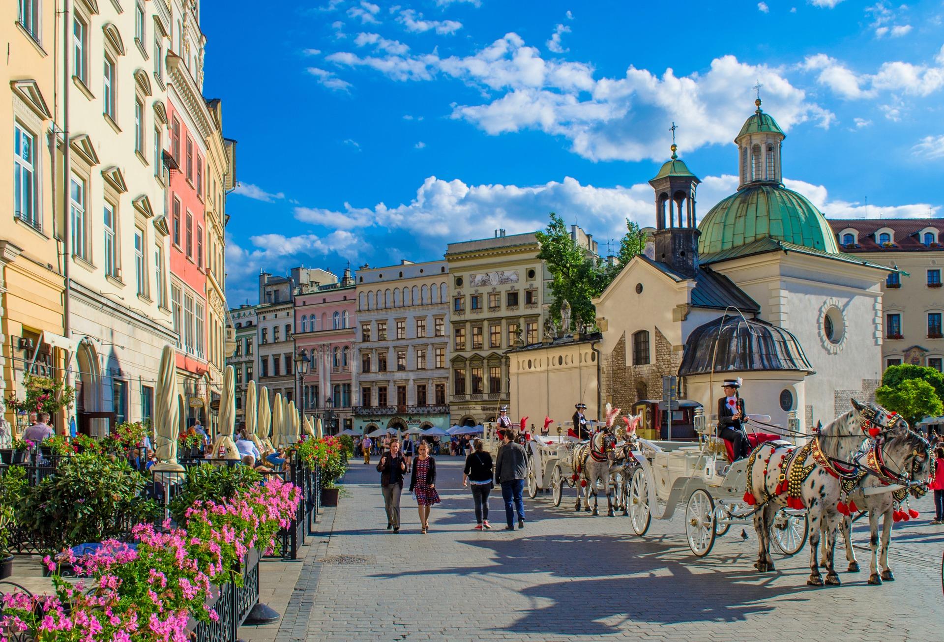 Summer feeling in Krakau, Poland