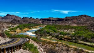 Magnificent view on Big Bend National Park, Texas