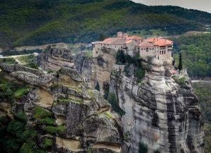 Historic Monastry in Meteora, Greece