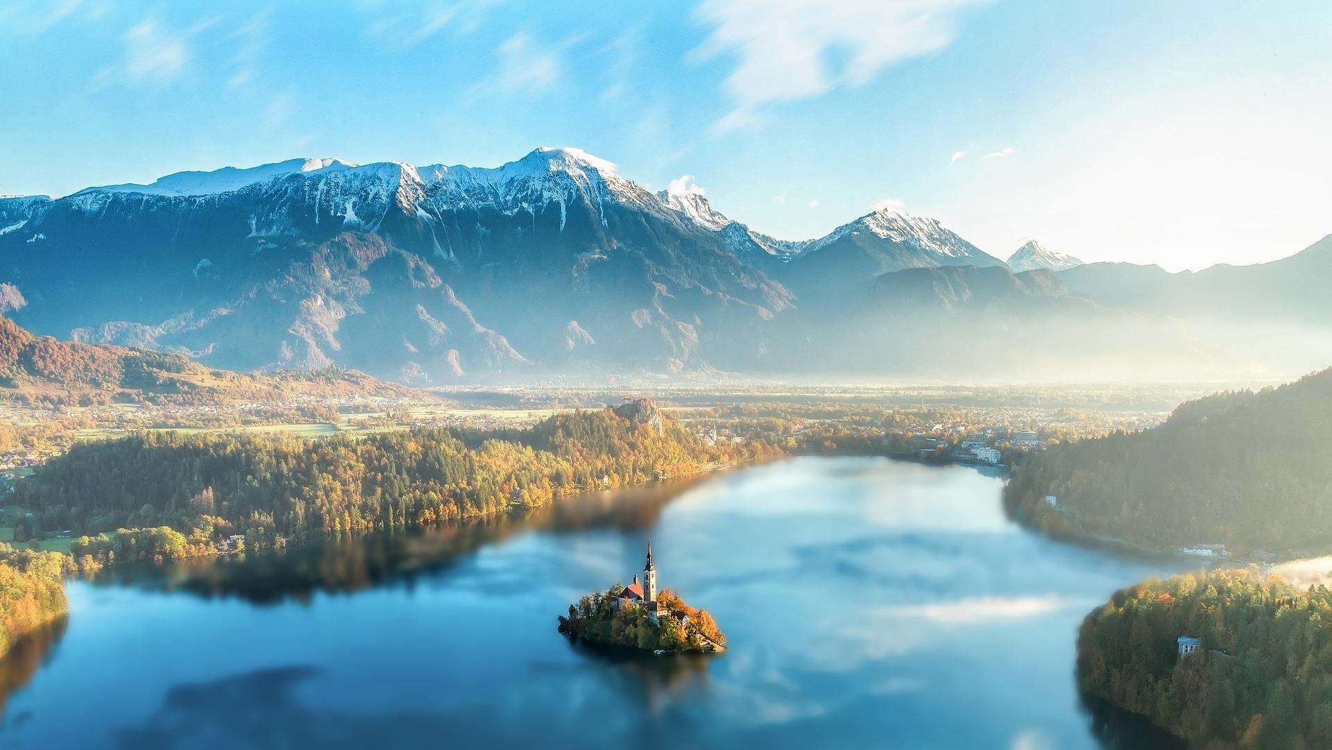 Spring feeling at Lake Bled, Solvenia