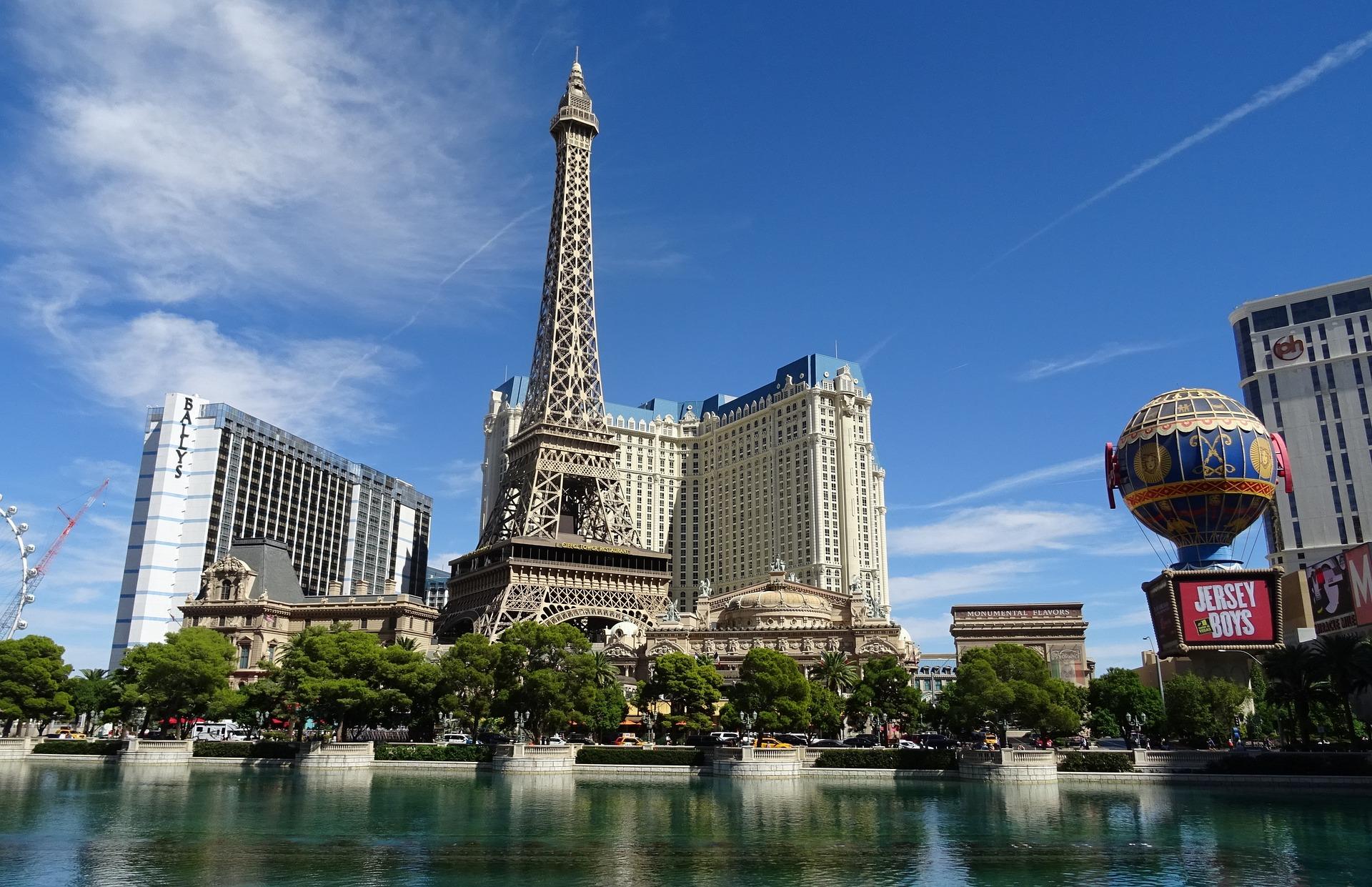 Gorgeous view on Las Vegas Strip, Nevada