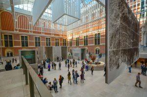 Rijks Museum in Amsterdam, Netherland
