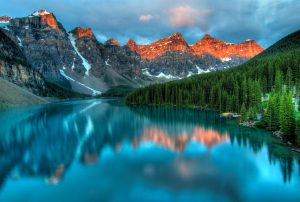Rocket Mountains in Banff National Park