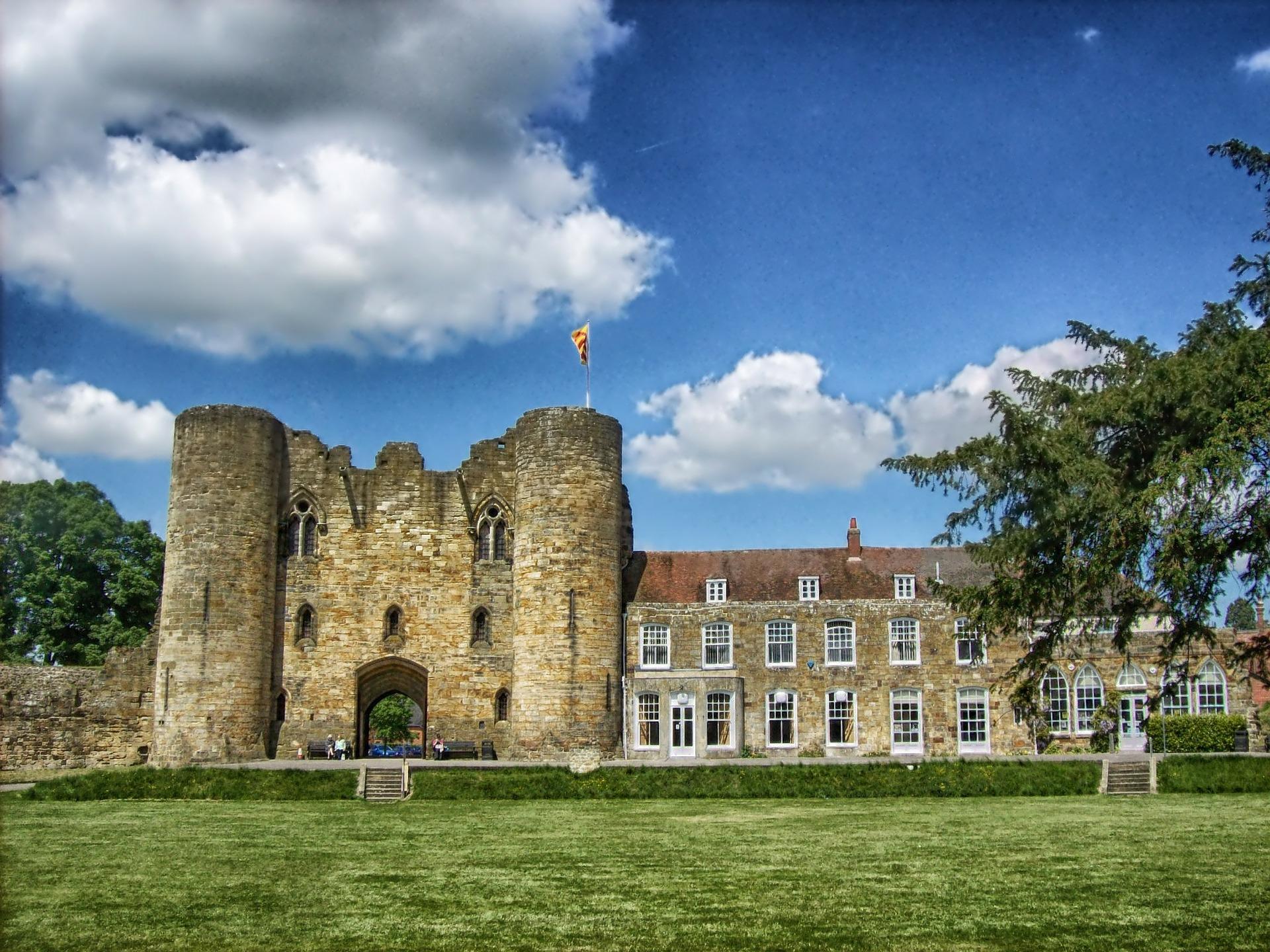 Amazing Tonbridge Kent Castle, United Kingdom