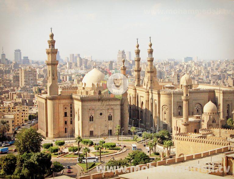 Impressive mosque in Cairo, Egypt
