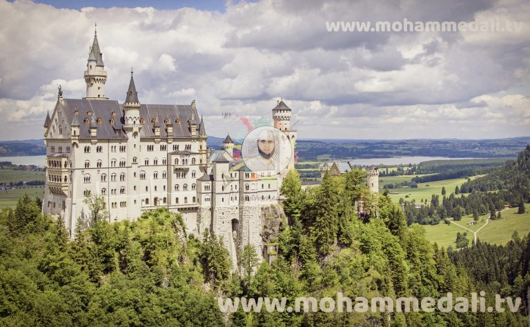 Best historic site Neuschwanstein Castle in Germany