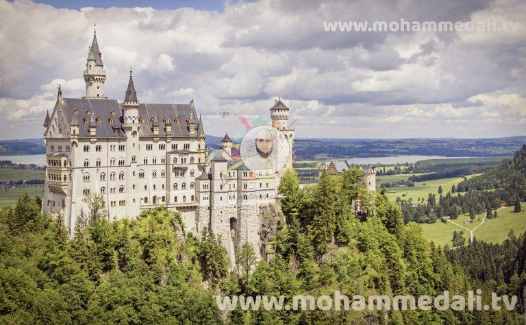 Best historic site Neuschwanstein Castle in Germany