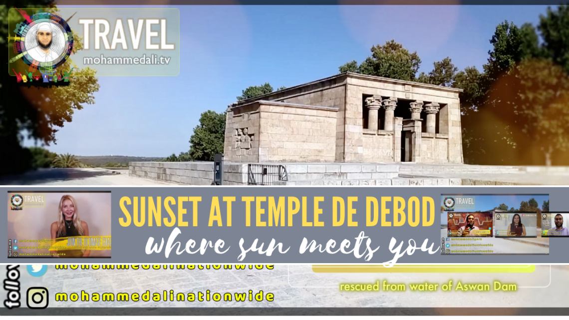 Temple of Debod – What to see in Madrid in 3 days – Explore Spain