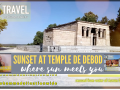 Beautiful Sunset at Temple of Debod | What to see in Madrid in 3 days | Explore Spain