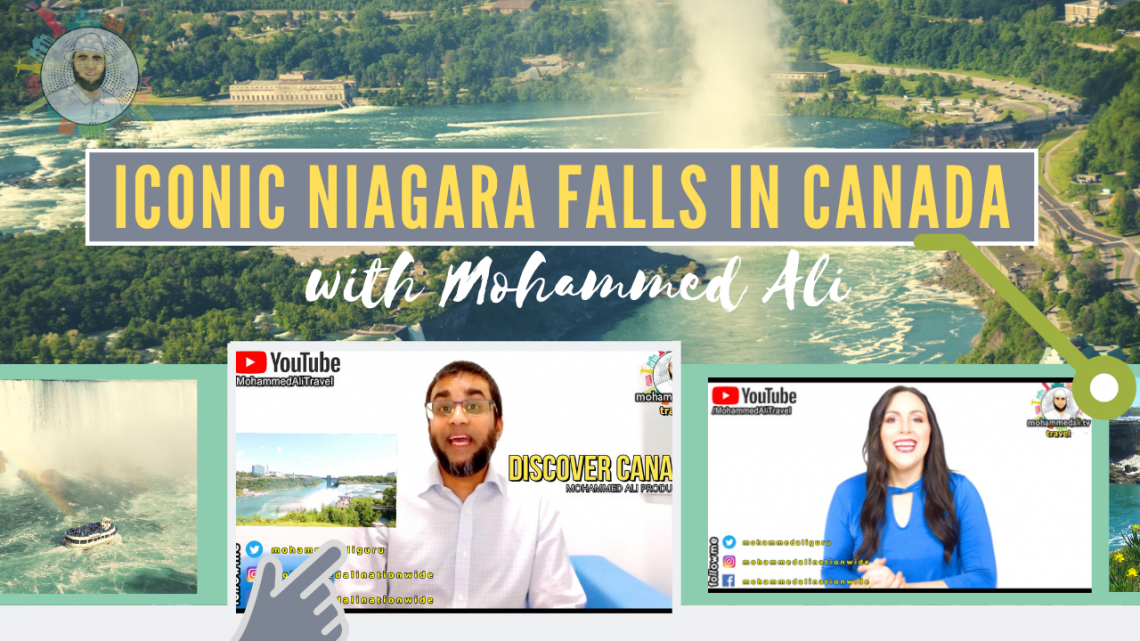 Amazing Niagara Falls Lightshow at night in Canada | TravelTalk
