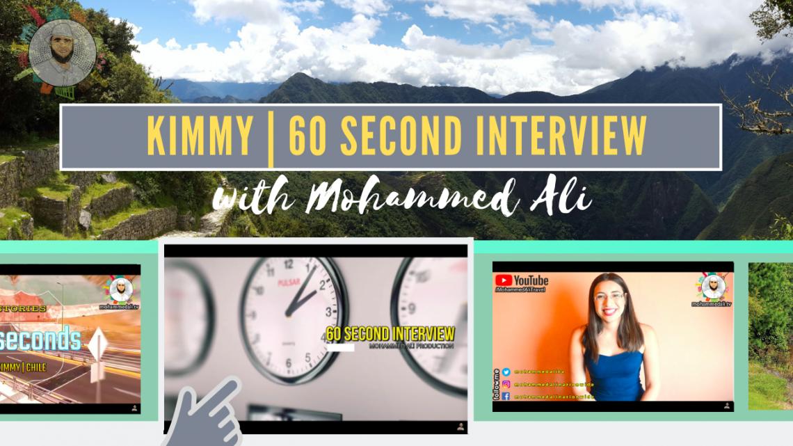 Meet Kimmy | 60 second interview