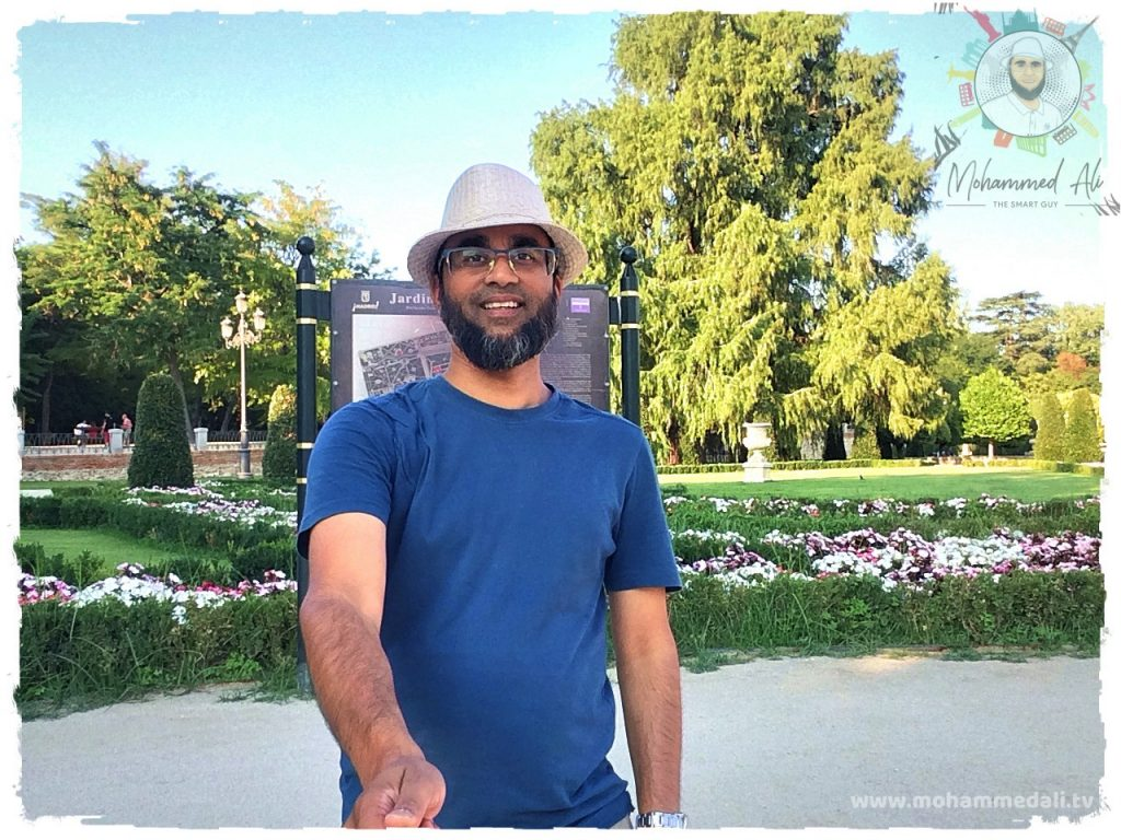 Summer Days in El Retiro Park   Madrid, Spain