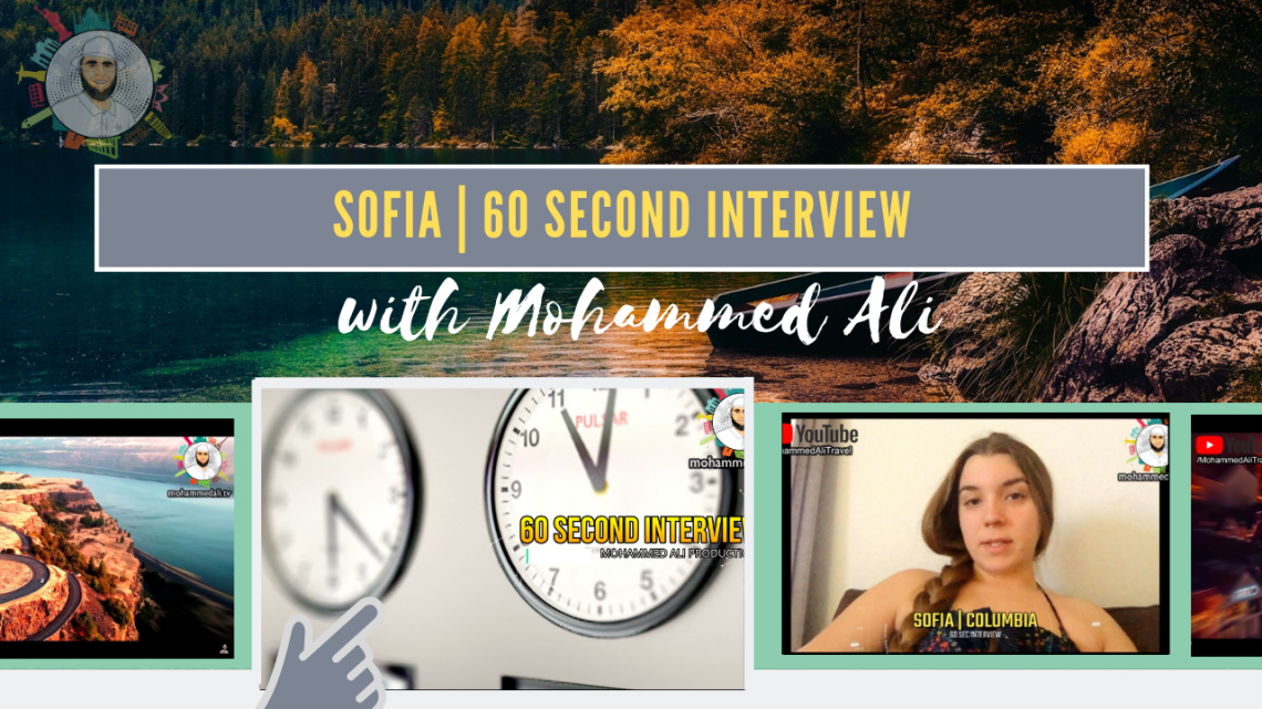 Meet Sofia | 60 second interview