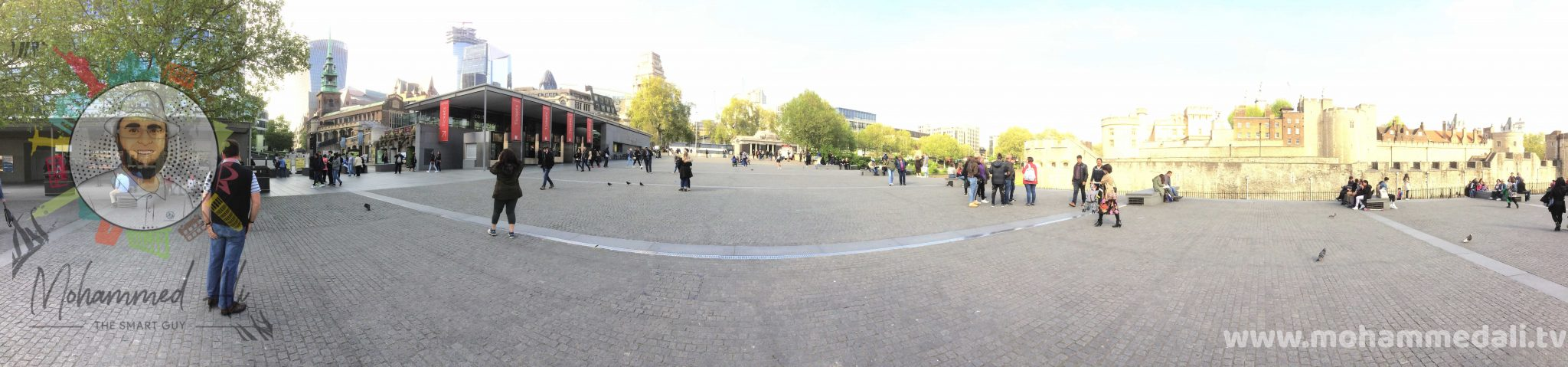 Panoramic Tour pf the Tower of London