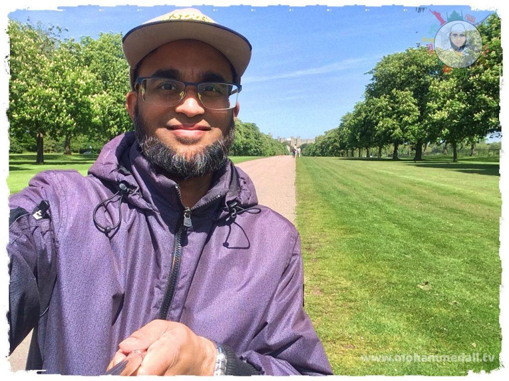 Amazing Long Walk in Windsor towards Windsor Castle