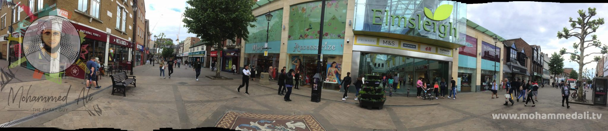 The Elmsleigh Shopping Centre in the heart of Staines-upon-Thames