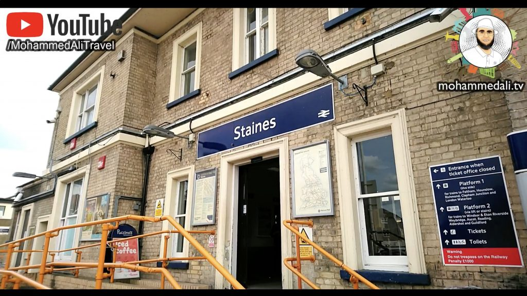 Staines-upon-Thames Train station