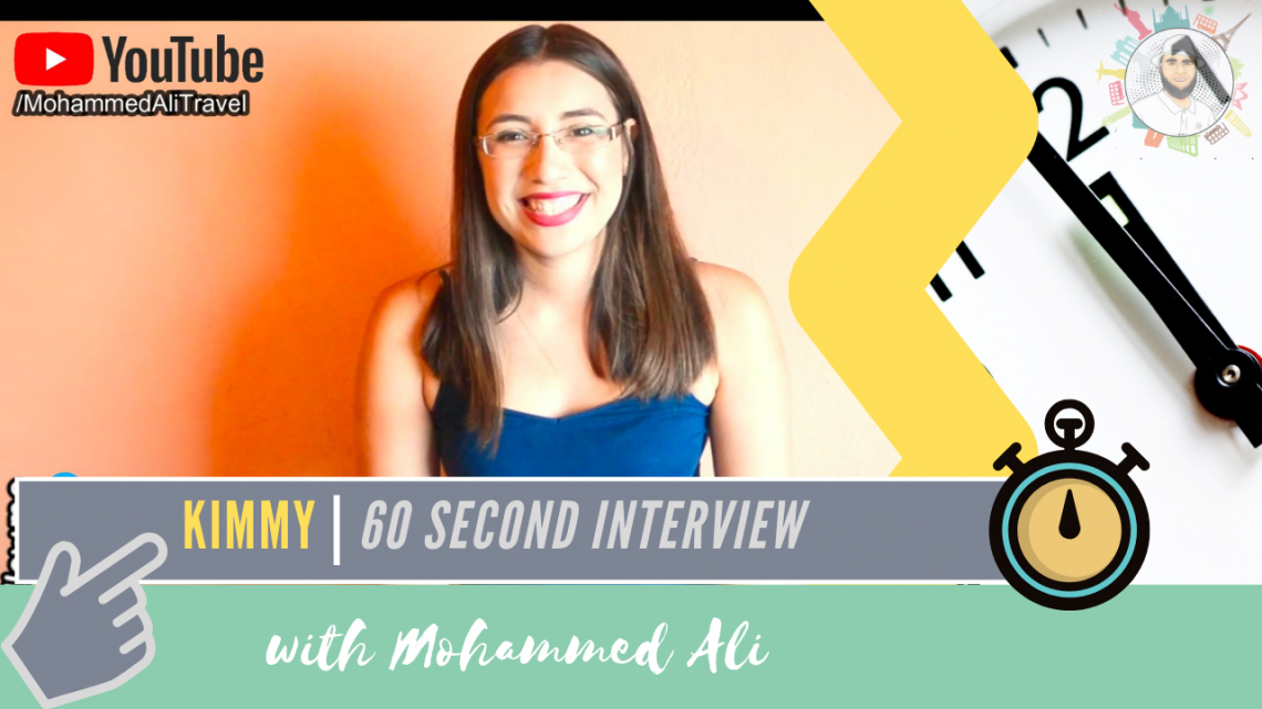 Meet Kimmy | 60 second interview