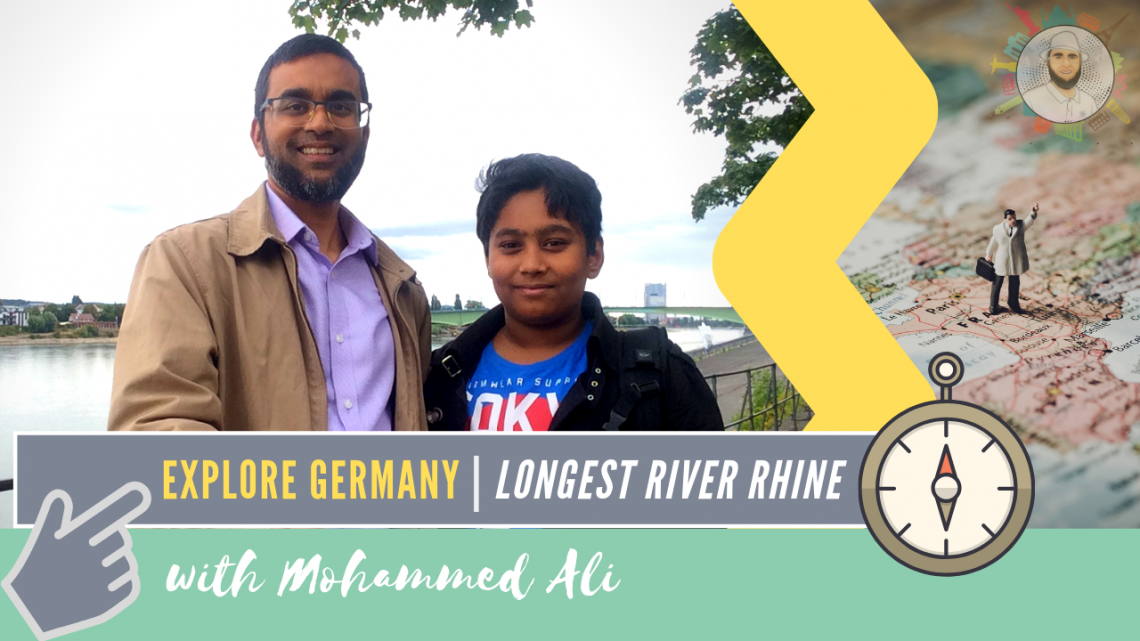 Explore Germany in 3 days | Longest River Rhine