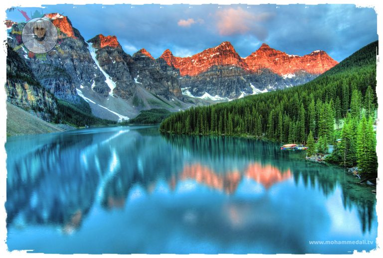 Beautiful memories about the banff national park in Canada