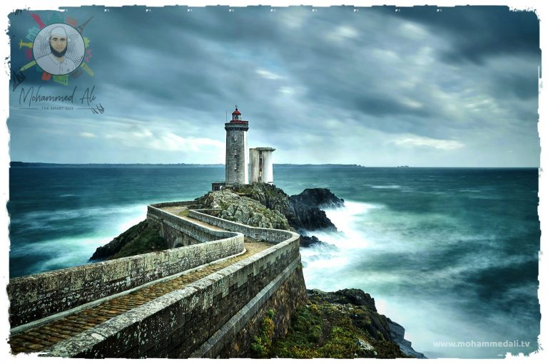 Breathtaking view on Brittany, France