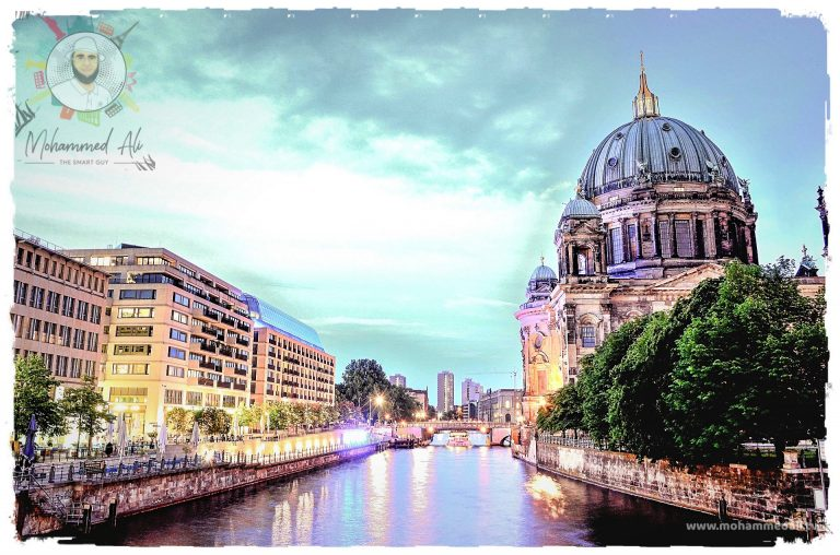 Spotted the beautiful Berlin Cathedral Church in Berlin next to the river Spree