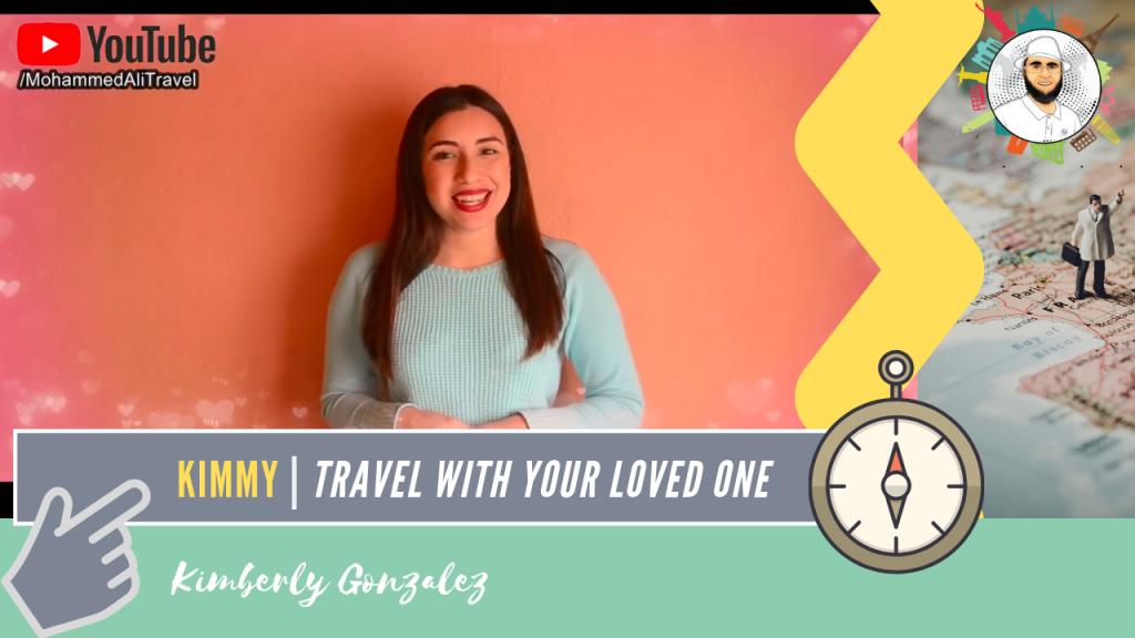 Kimberly Gonzalez   Traveling with my partner