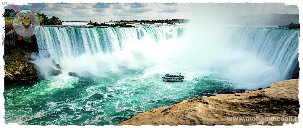 Maid of the Mist Boat Tour in Niagara Falls, Canada