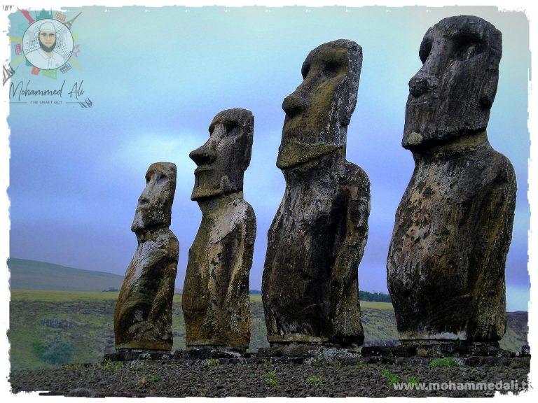 Ahu Tongariki in Easter Island
