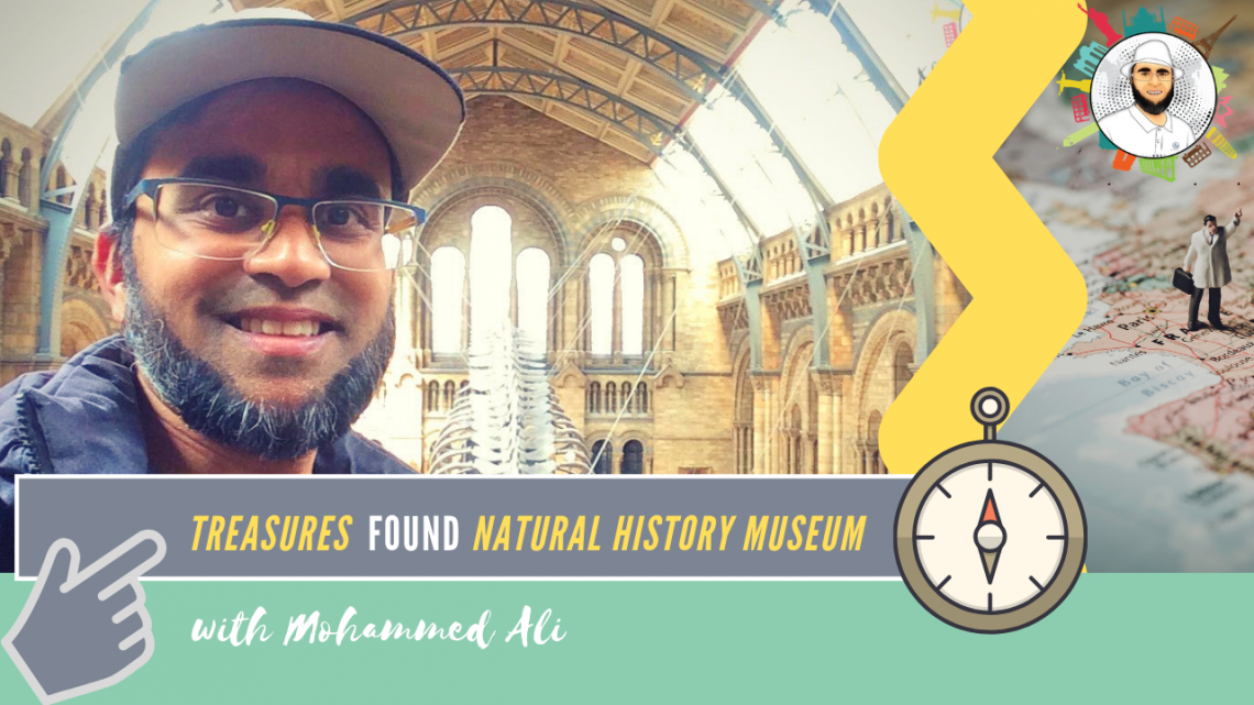 Day out in London | Treasures in British Natural History Museum | Mohammed Ali