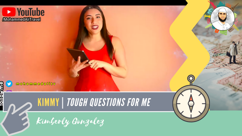 Kimberly Gonzalez | Tough questions for me