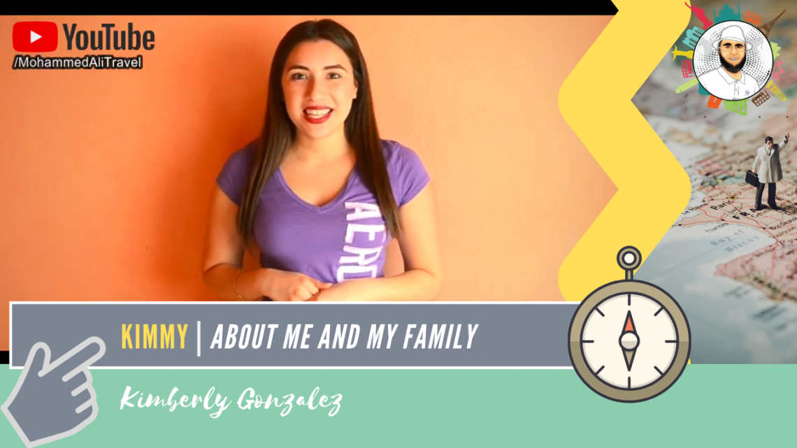 Kimberly Gonzalez | About my family