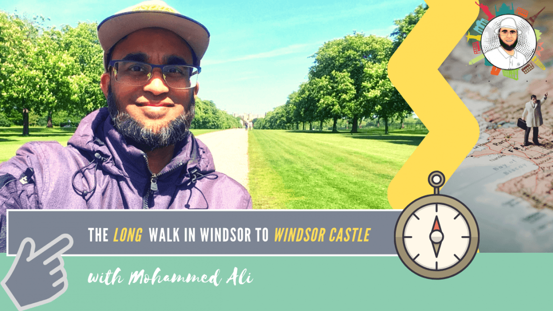 The Long Walk in Windsor to Windsor Castle