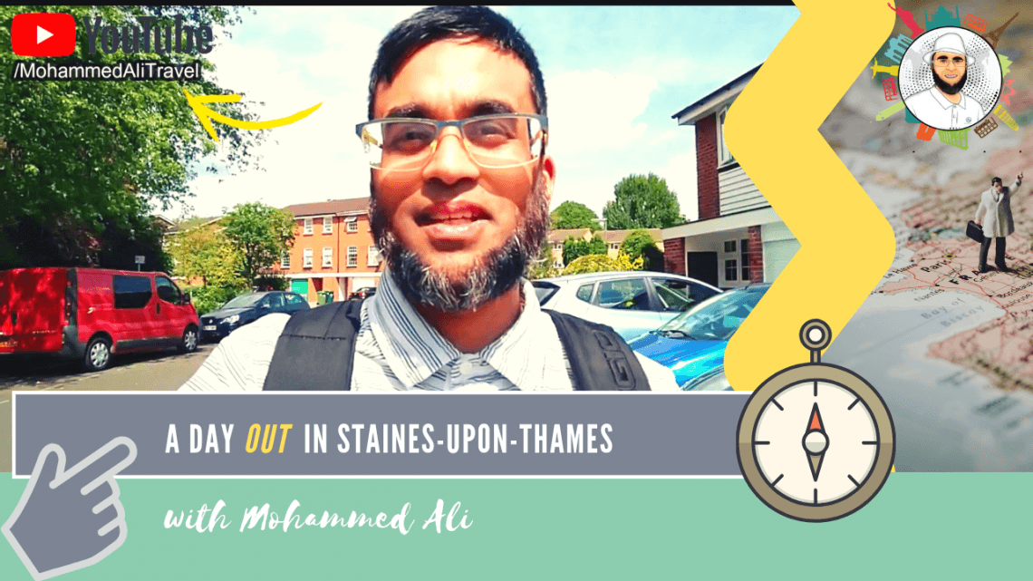 Day out in Staines-upon-Thames | High Street, Town Hall and River Thames