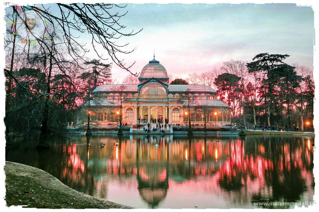 Amazing evening in Palacio de Cristal