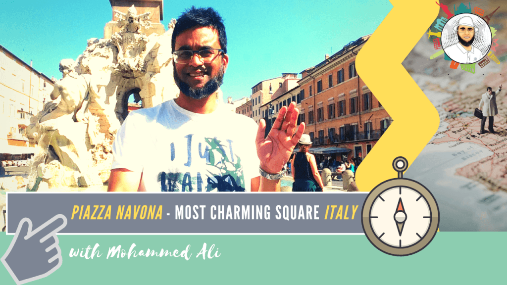 Piazza Navona - Most charming square in Rome | Italy Tour