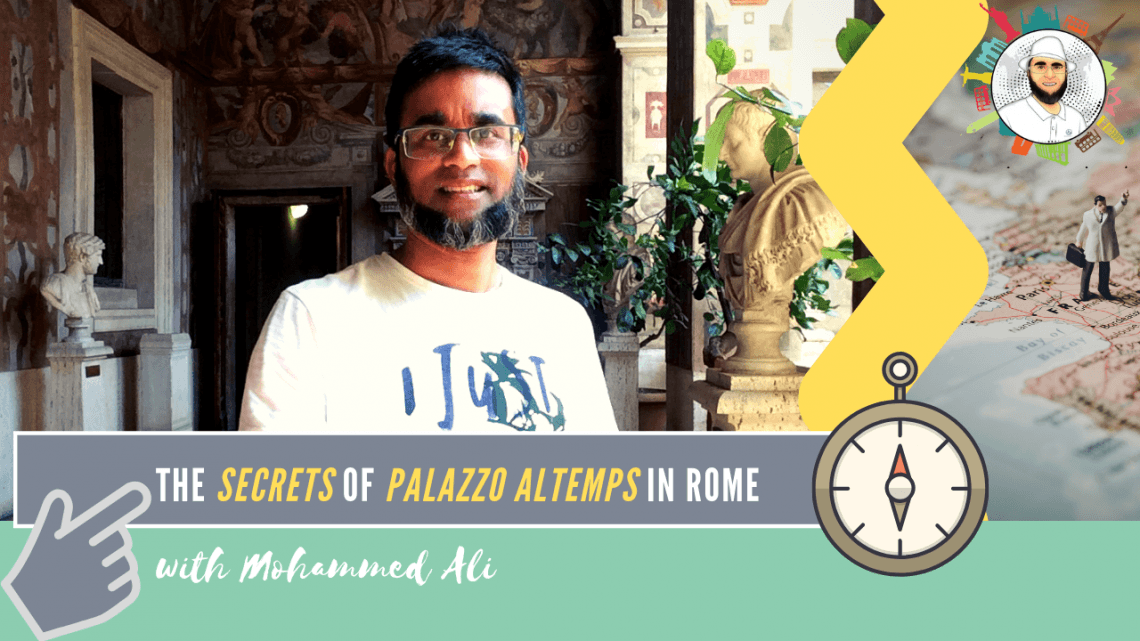 The secrets of Palazzo Altemps – Finest national museum in Rome | Italy Tour | Mohammed Ali