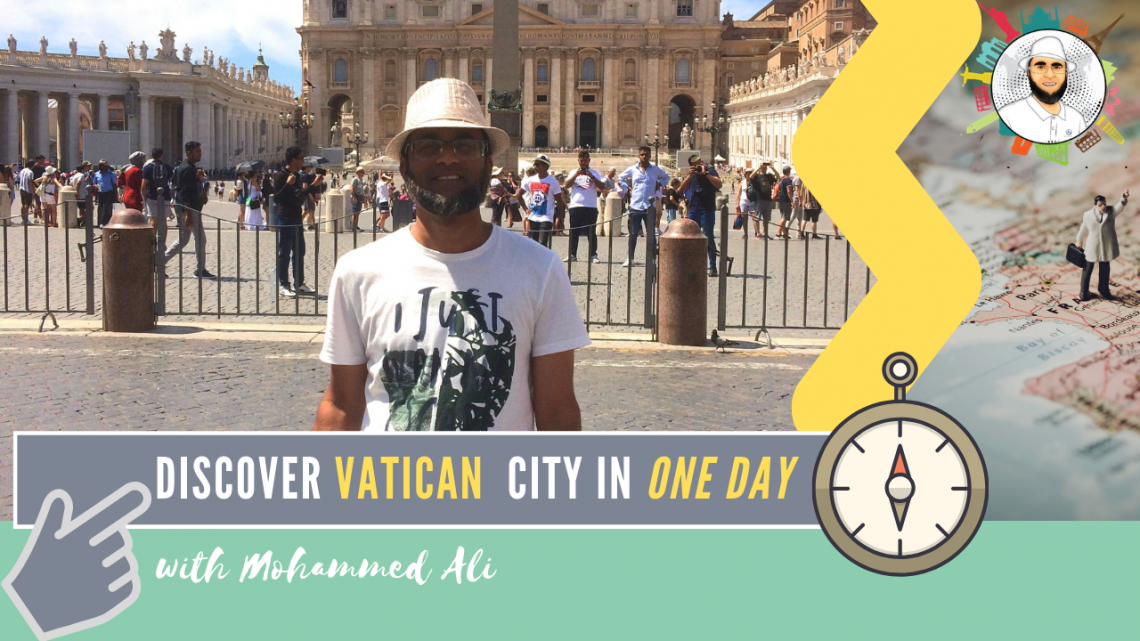 Discovering Vatican City with my Red Passport | Rome Tour | Mohammed Ali