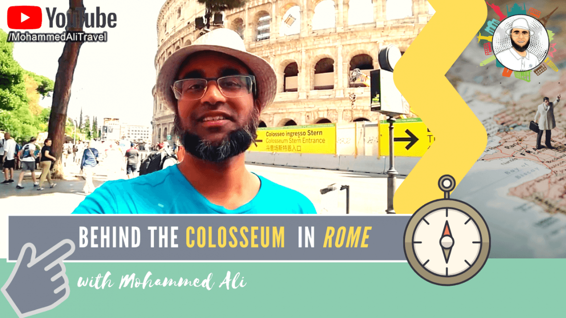 The iconic Colosseum |  Rome Tour | Mohammed Ali