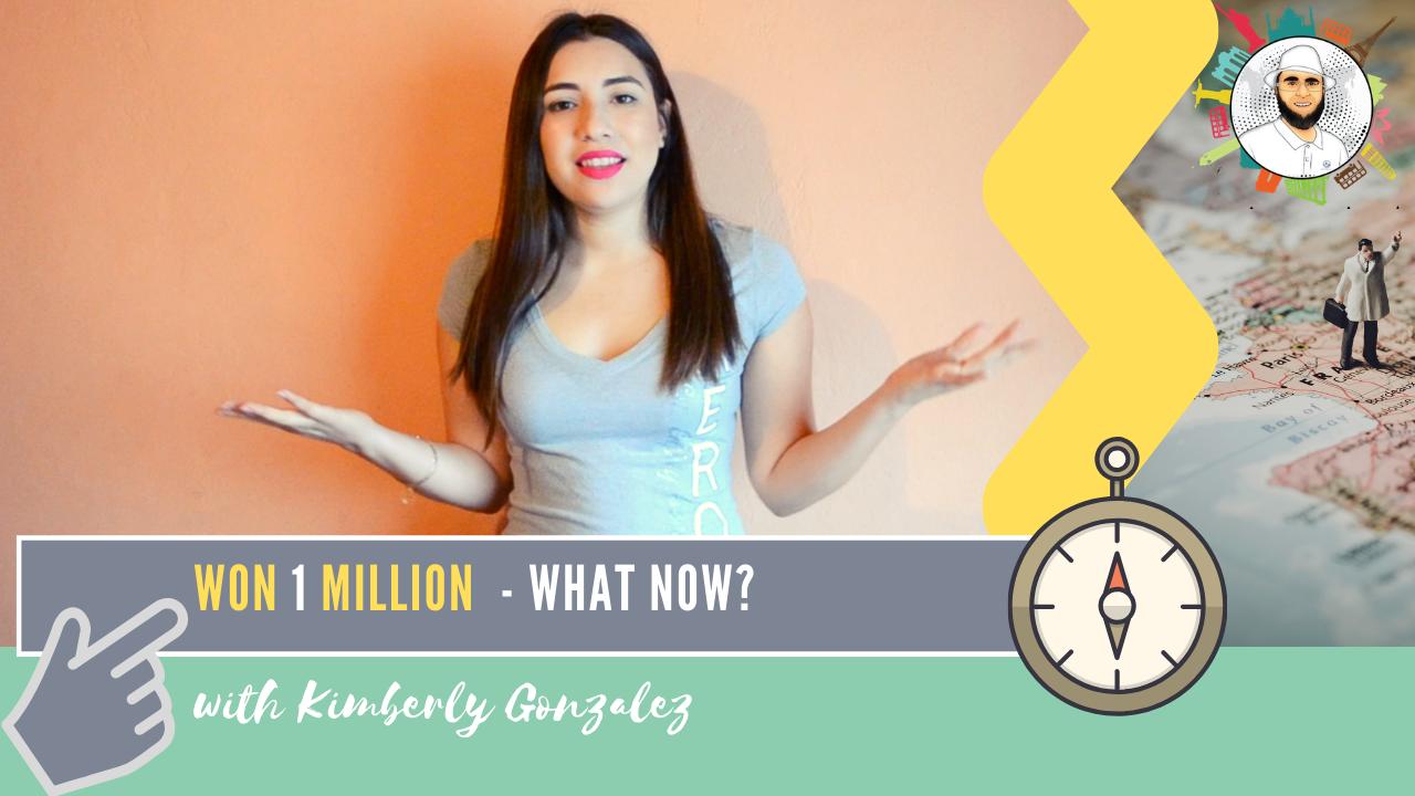 I won a million dollar | Kimberly Gonzalez | 012