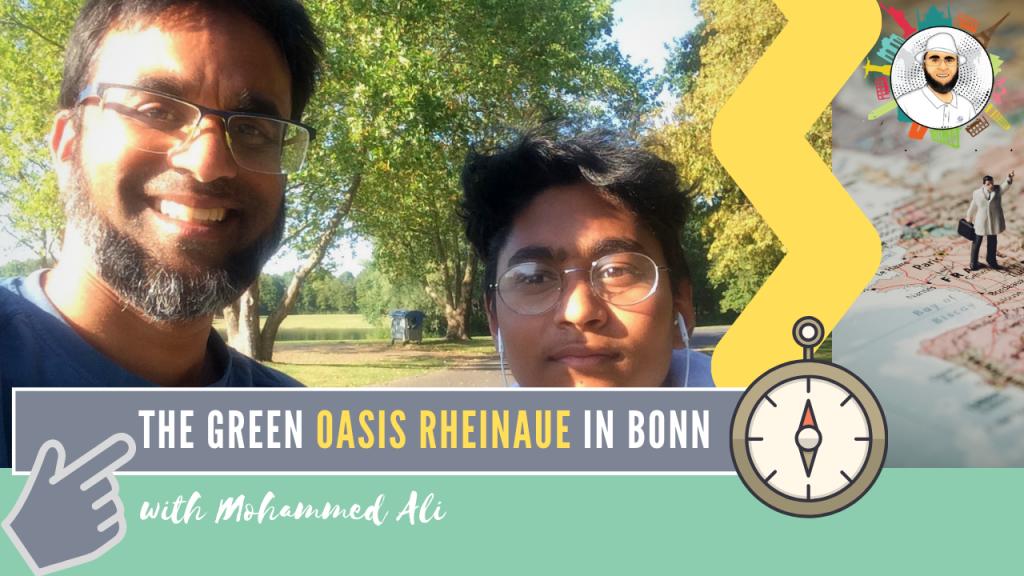 Rheinaue State Park in the summer | Bonn Tour | Mohammed Ali