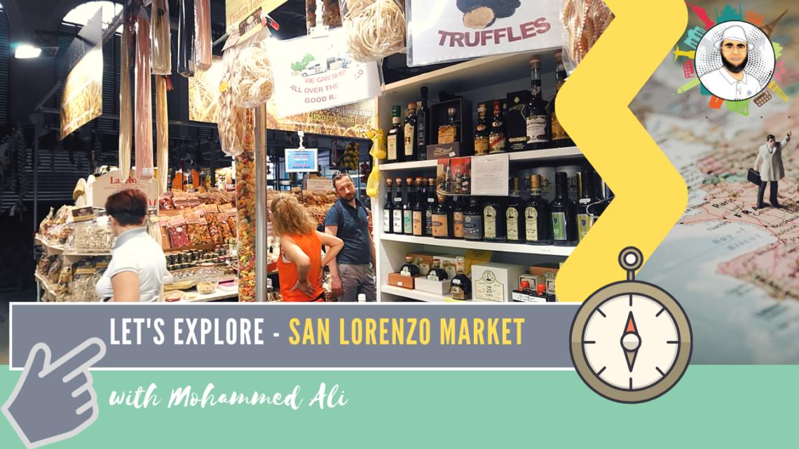 San Lorenzo Market | Florence Tour | Mohammed Ali